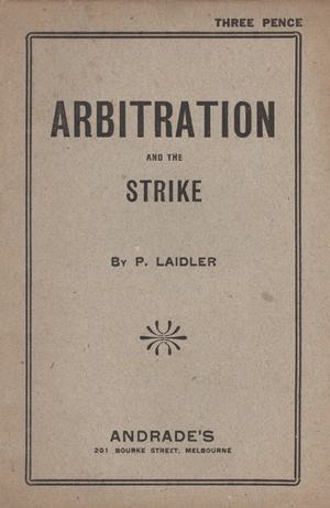 Cover of Arbitration and the Strike