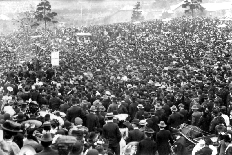 May Day, Melbourne, 1906
